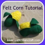 How to sew Felt Corn on the Cob