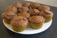 Chocolate Choc-chip muffins