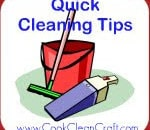 Quick Cleaning Tip – Wipe Kitchen Benches