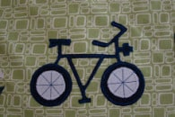 Bicycle Applique