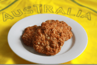 Honeyed ANZAC Biscuits