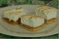 Lime Meringue Slice