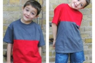 Color Blocking T-Shirt Tutorial