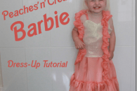 Peaches and Cream Barbie Dress Up Tutorial