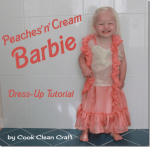 Peaches'n'cream Barbie Dress Up