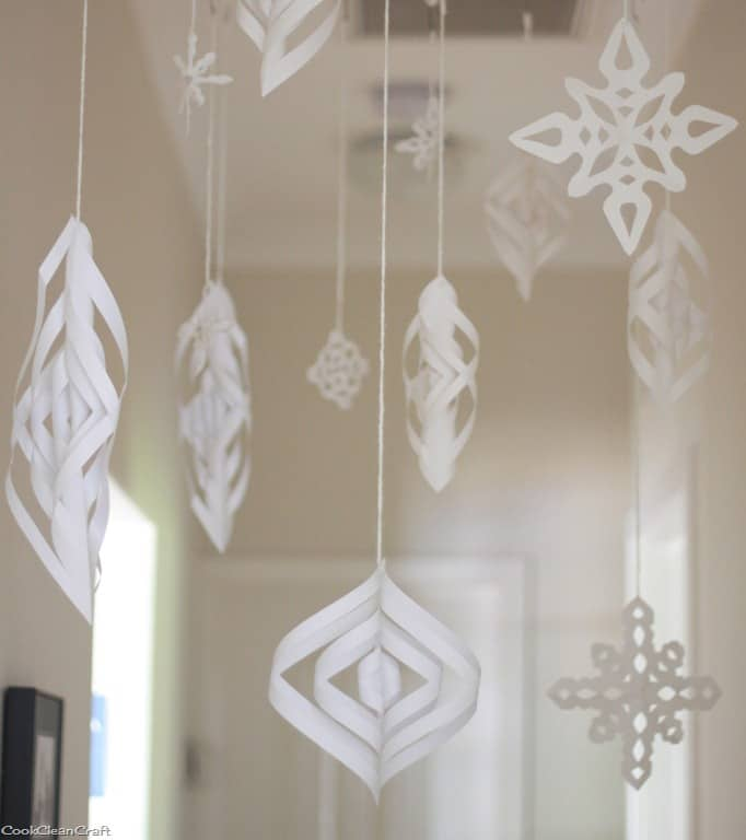 indoor winter wonderland tutorial cook clean craft