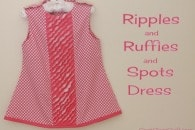 Ripples and Ruffles and Spots Dress