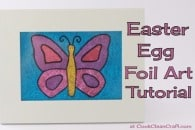 Easter Egg Foil Art Tutorial