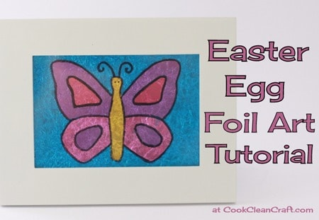 Foil Easter Easter Egg Foil Art Tutorial