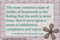 The Dissatisfaction of Infinite Housework
