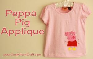 Peppa Pig Applique (2)