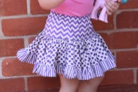 Tiered Gathered Skirt (4)