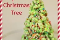 Popcorn Christmas Tree Tutorial