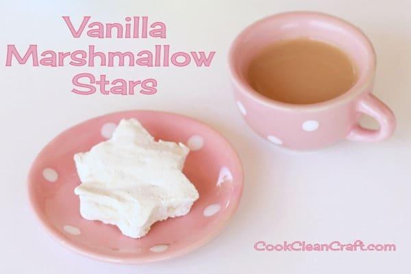 Vanilla Marshmallow Stars (4)