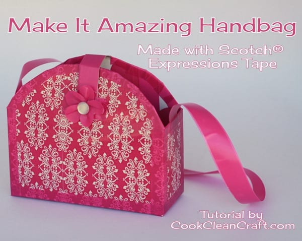 Make it Amazing Scotch Tape Handbag (5)