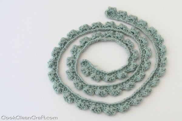 Crochet Skinny Scarf-002