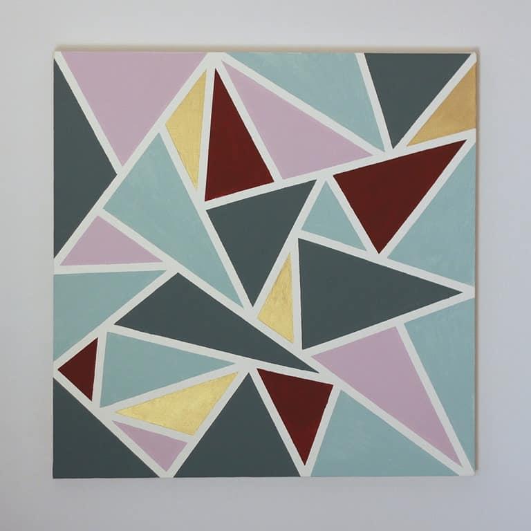 Geometric Art by an Engineer Tutorial Cook Clean Craft