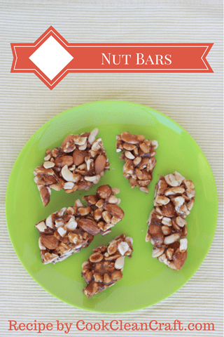 Nut Bar Recipe