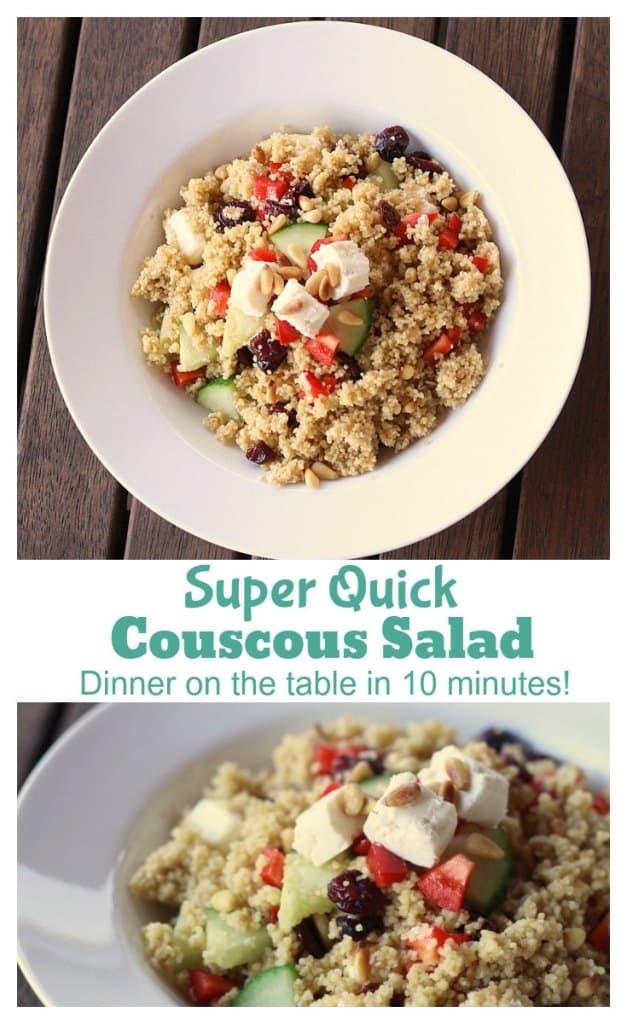 Super Quick Couscous Salad Recipe