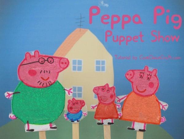 Peppa Pig Puppet Show Tutorial (2)