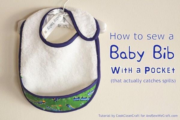 Baby Bib with Pocket1