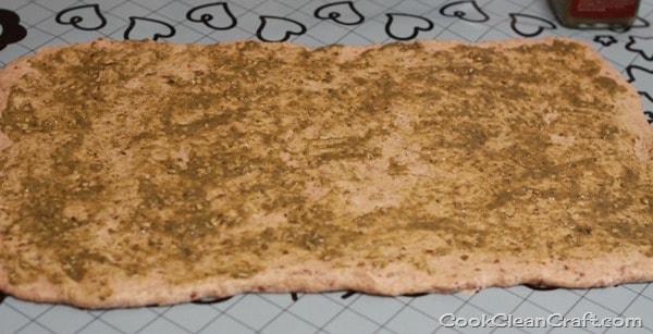 Chicken Corn Pesto Scrolls (2)