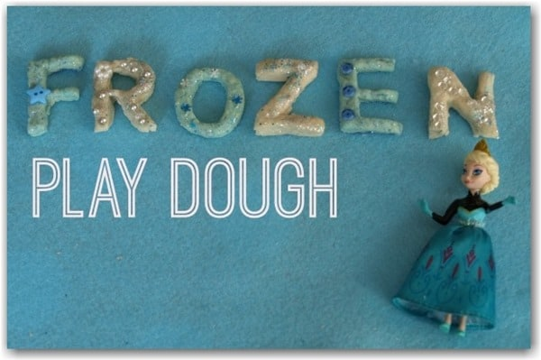 Frozen Playdough