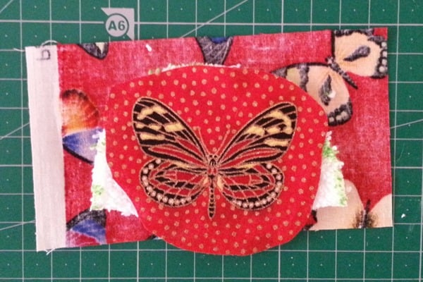 Sew Butterfly Hairclip