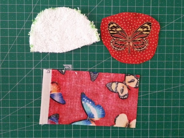 Sew a butterfly hairclip (2)