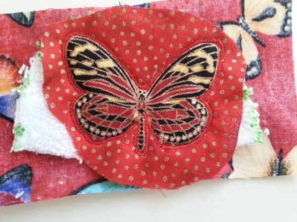 Sew a butterfly hairclip (4)