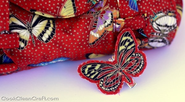 Sew a butterfly hairclip (8)