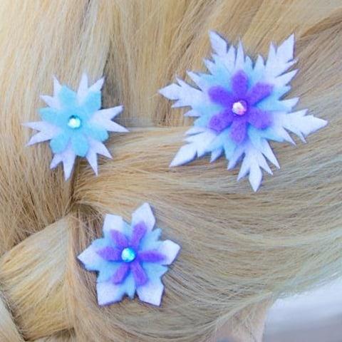 disney-frozen-elsa-snowflakes-hair-barrettes
