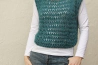 Quick and Easy Knitted Vest