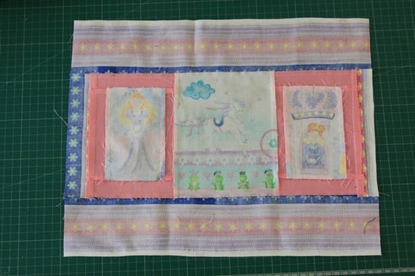 How to sew a laminated cotton placemat (3)