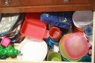 Letting go of kitchen clutter