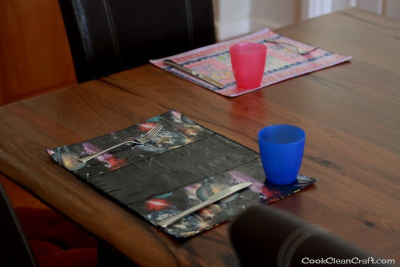 How To Sew Laminated Placemats Cook Clean Craft