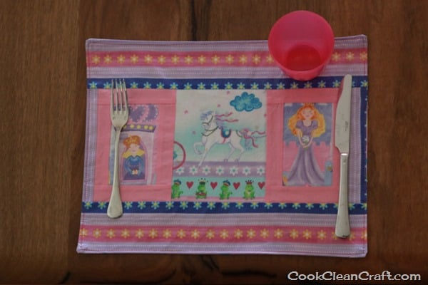 Sew a Laminated Placemat (5)