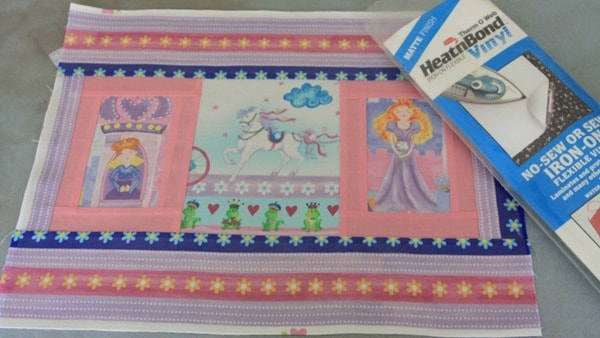 Sew a laminated placemat