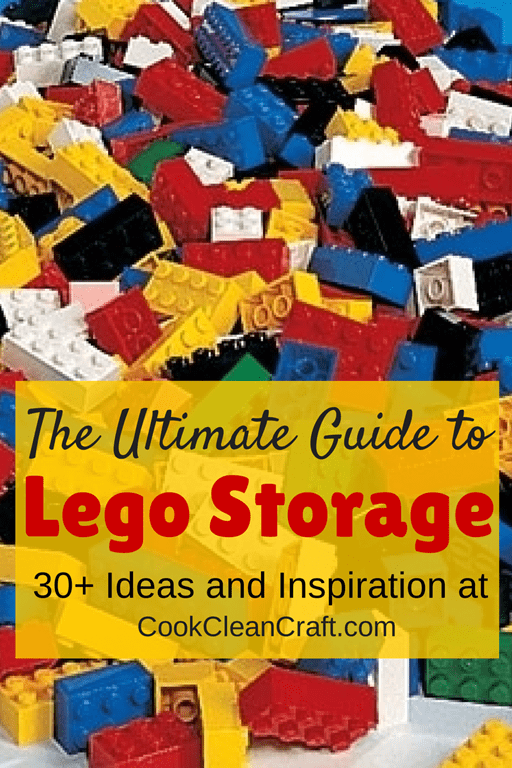 The Ultimate Guide to Lego Storage | Cook Clean Craft