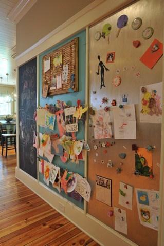 Huge Kids Art Display