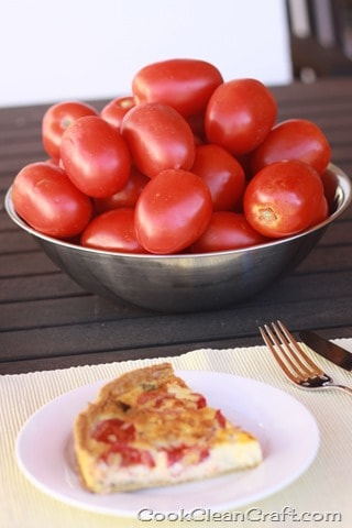 Tomato and Basil Quiche recipe (7)
