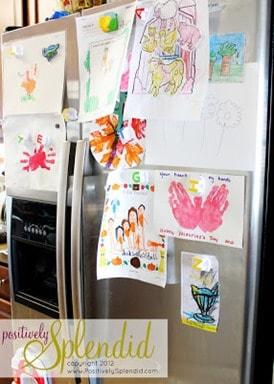 refrigerator art frame tutorial 3