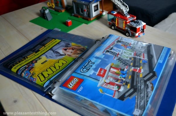 simple-storage-for-LEGO-manuals