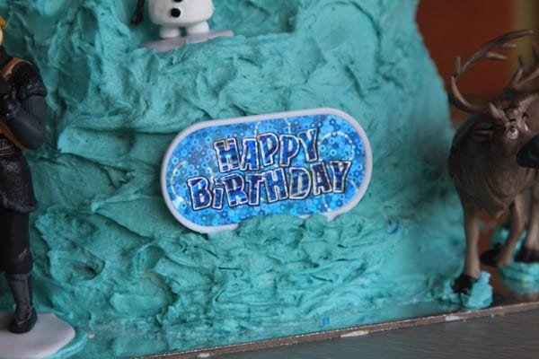 Frozen Elsa Ice Palace Cake-003