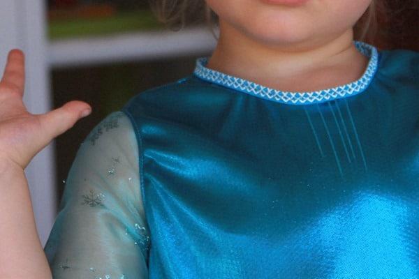 Frozen Elsa Party Dress (1)
