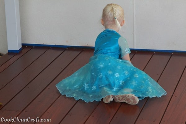 Frozen Elsa Party Dress (2)