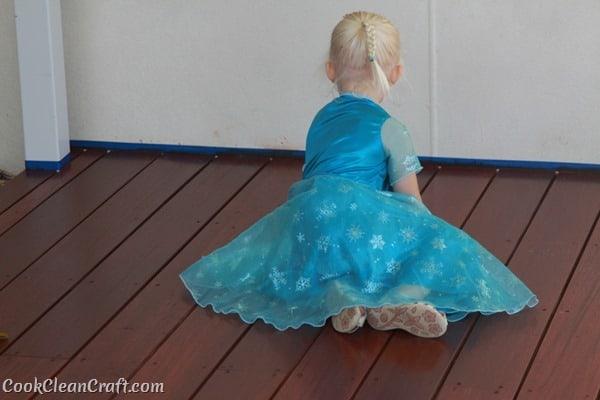 Frozen Elsa Party Dress (2)