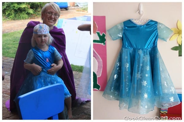 Frozen Elsa Party Dress
