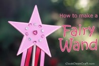 How to make a star fairy wand