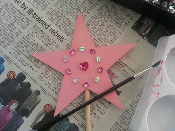 How to make a fairy wand (5)